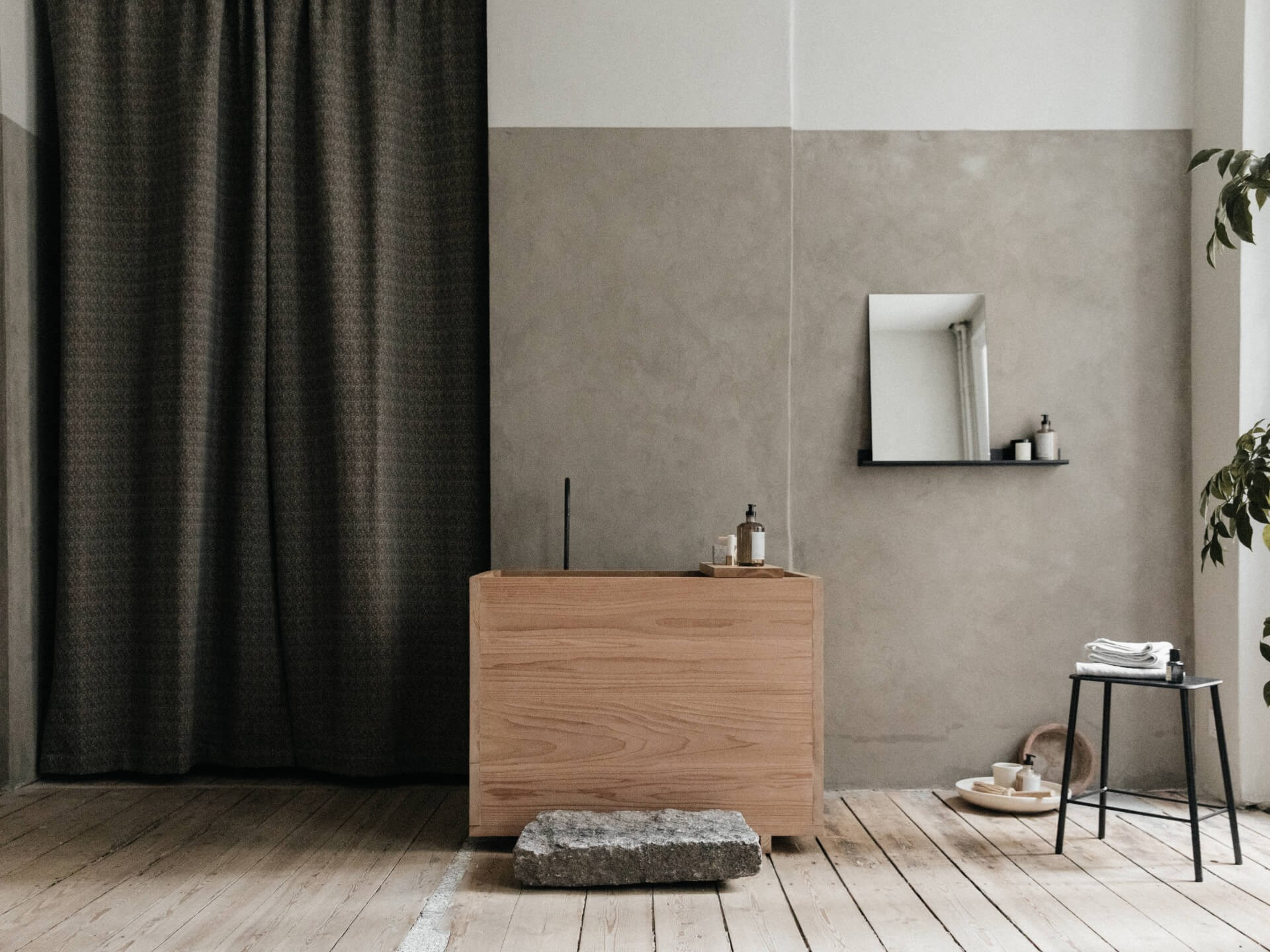 Stiler og farger: Enkel inspirasjon på stort bad | Eitra