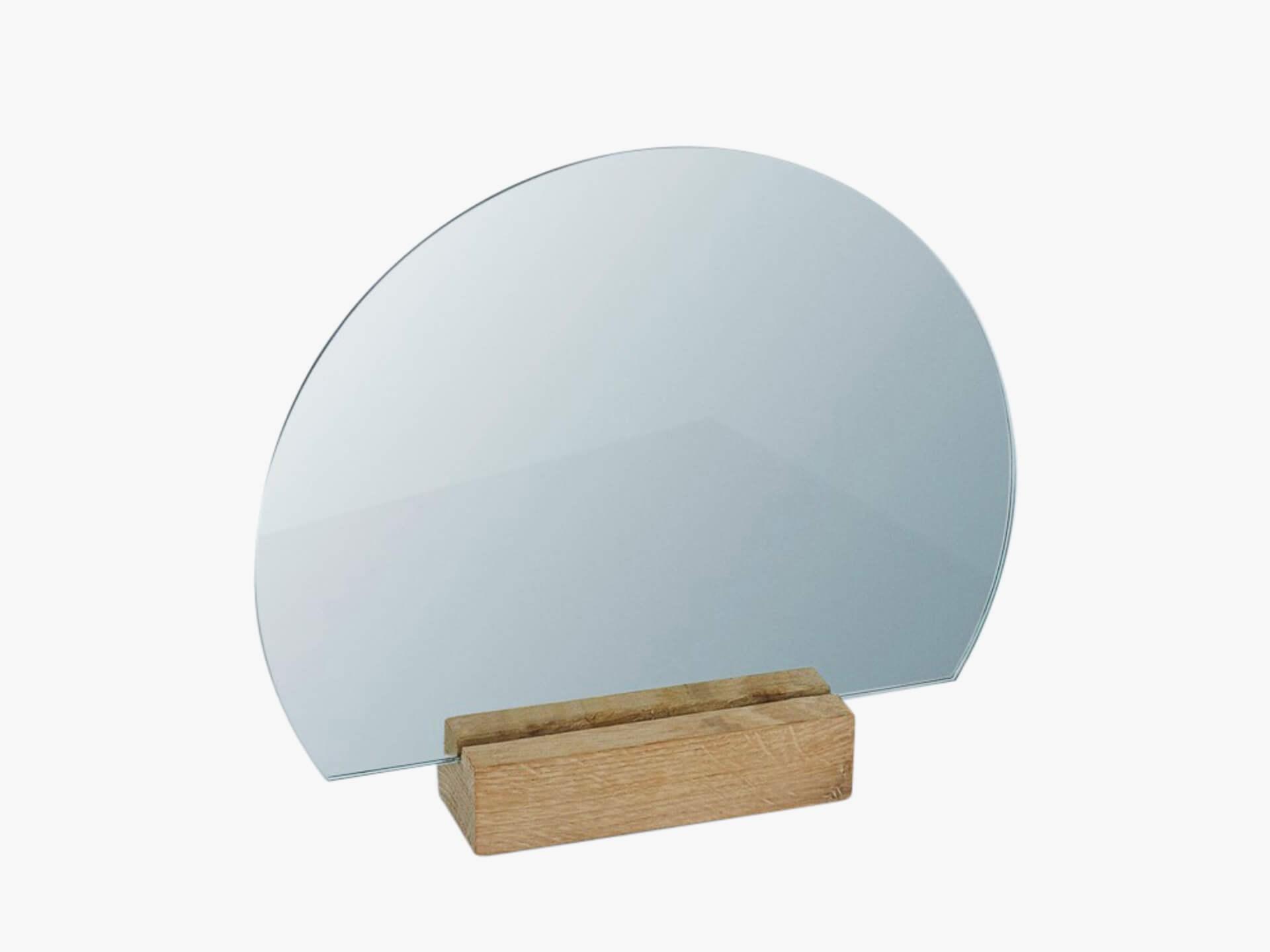 Kristina Dam Half moon mirror