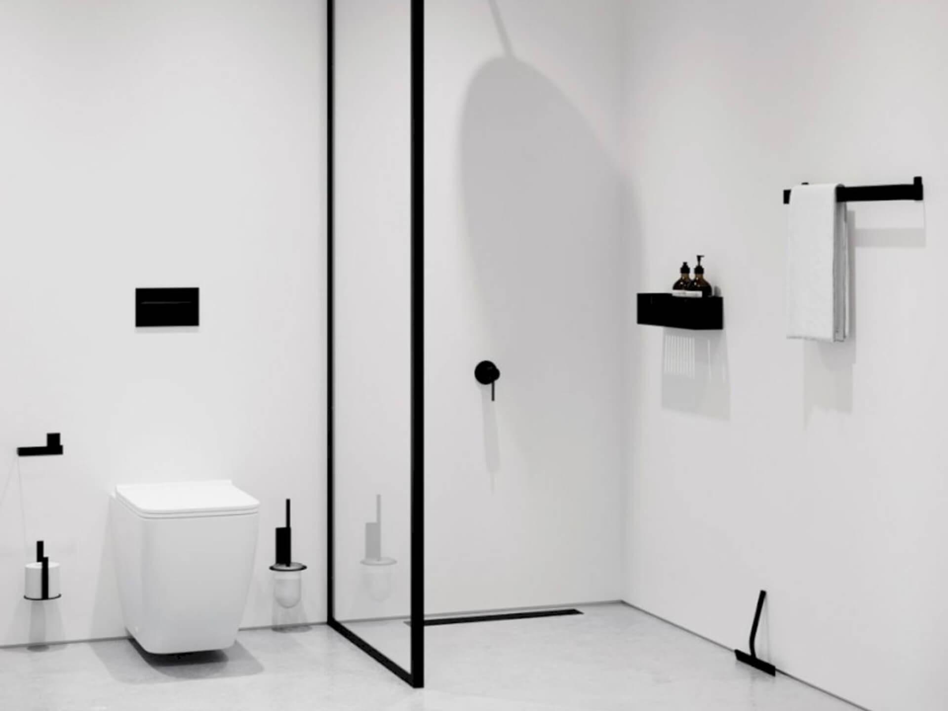 Nichba Toilet brush glass