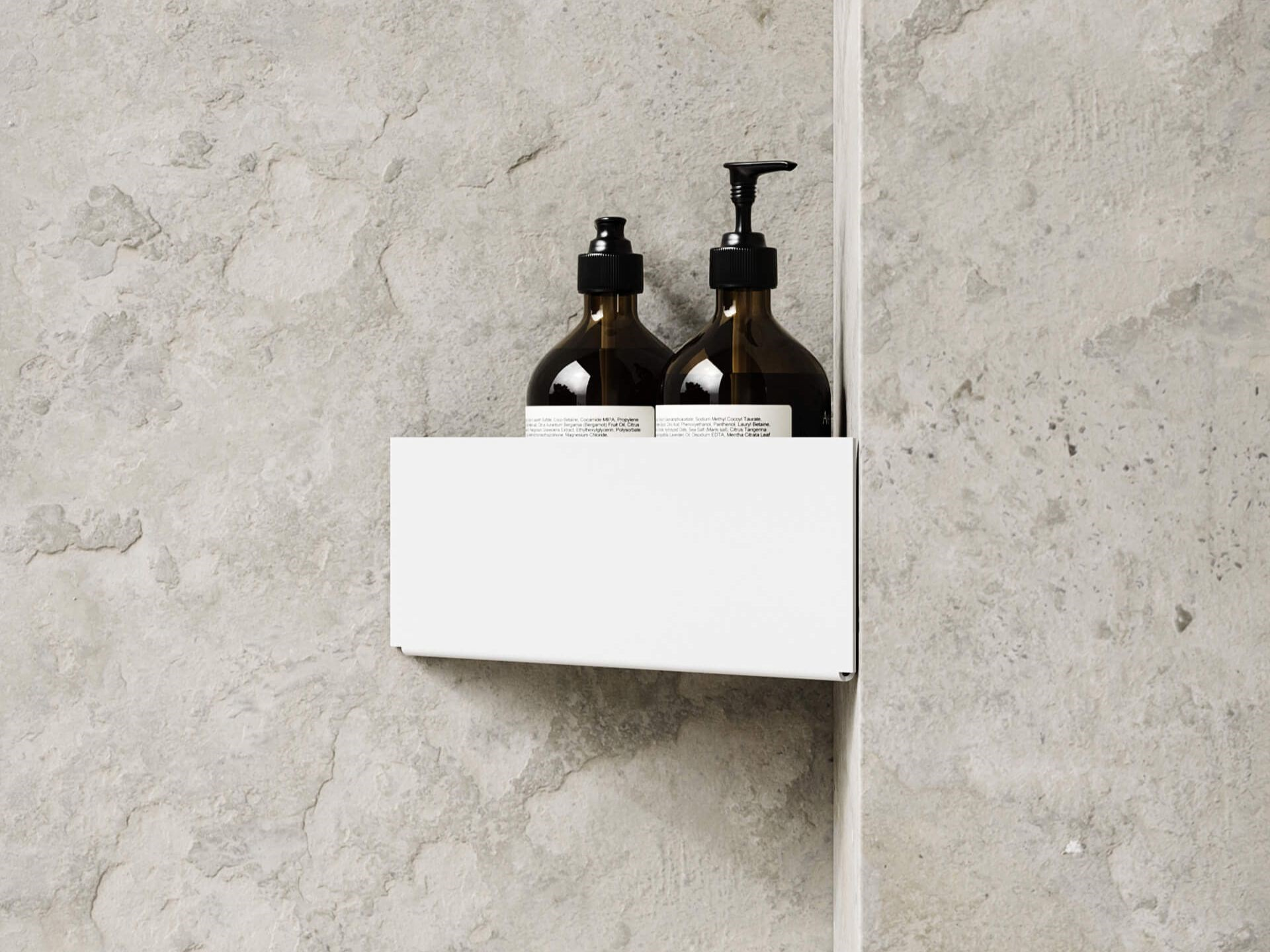 Nichba Bath shelf corner