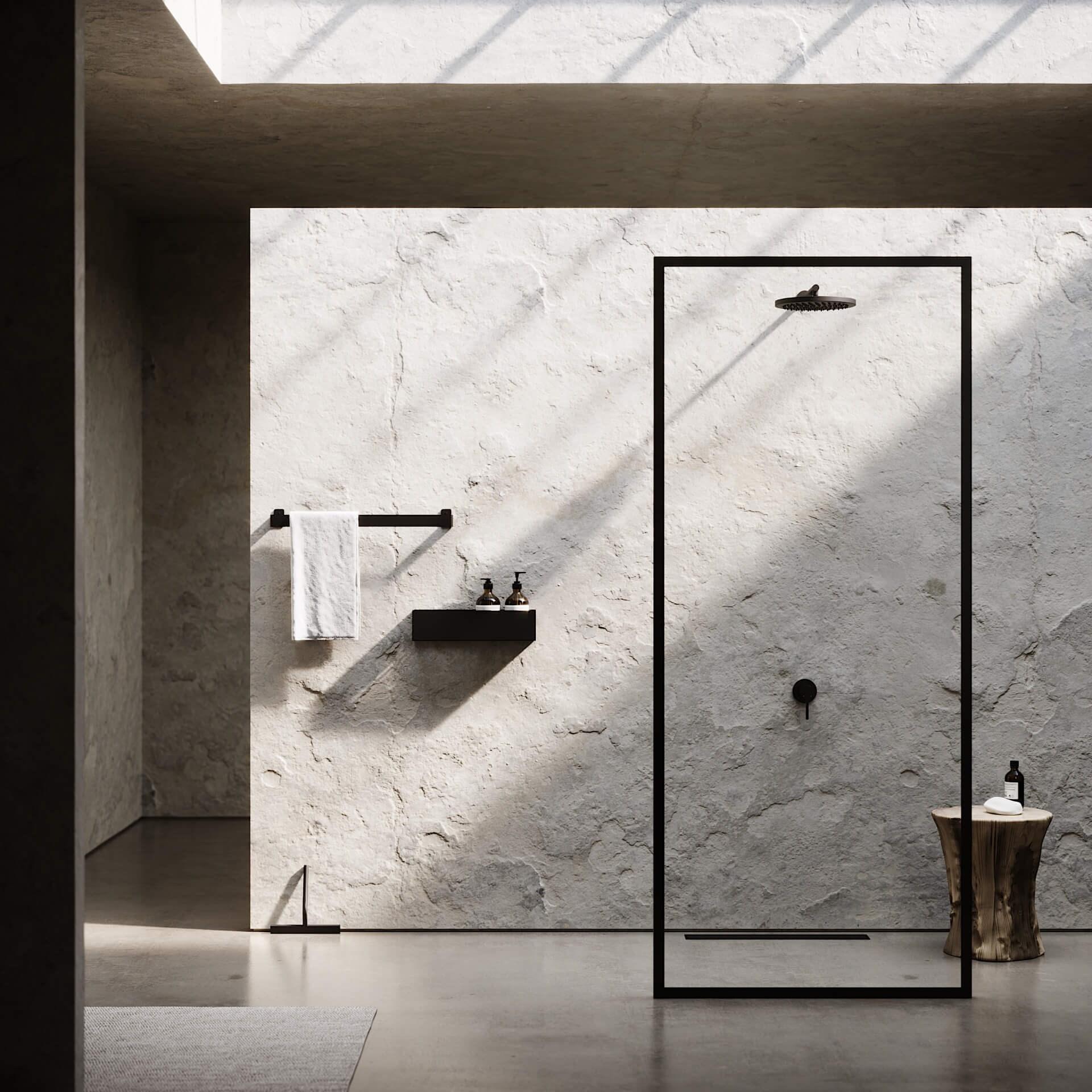 Nichba Shower wall