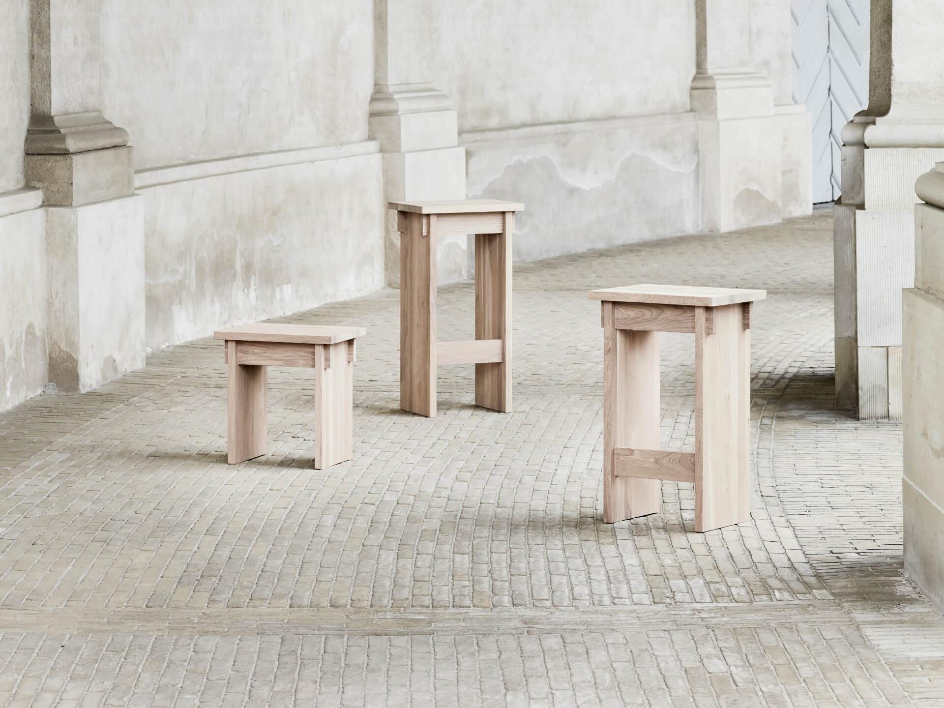 Kristina Dam Japanese stool